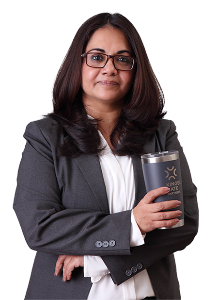 Arushi Bhattacharya is a Vice President with Kingsley Gate Partners.